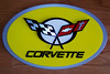 I recently acquired this great 3-D Corvette C5 emblem sign from John at furyroad@sbcglobal.net. It is made of plastic components and is approximately 18 inches by 11 inches in size and available in most colors.  It is the perfect addition to any Corvette garage, den, etc. John makes these for $46 plus shipping. If interested please tell him SILVERPLATE sent you.