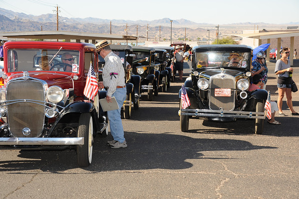 Old Car Club in Lake Havasu Parade  10-15-11