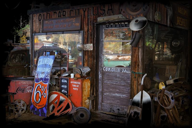 Old Car City Office in Cartersville, Georgia