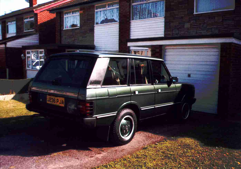 Our old Vogue SE 3.9 Range rover 1992