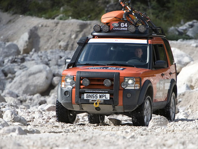 Land Rover LR3 competition ready for the 2006 Land Rover G4 Challenge: Land Rover North America announces the United States intent to field a team for the 2008/2009 competition. (02/05/08)