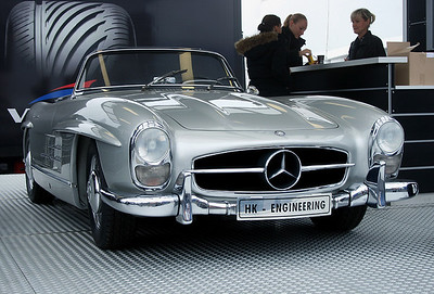 Mercedes 300SL of HK-Engineering