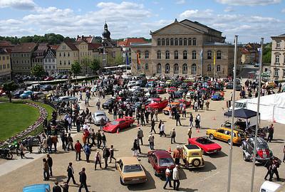 Oldtimertreffen Coburg Schlossplatz