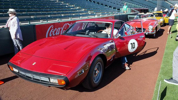 On the Grass of Tempe Diablo Stadium with the Copperstate 1000