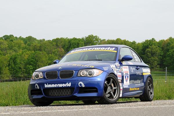 One Lap of America Class-Winning BMW 135i