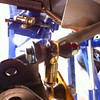 S111 V2linx mounted to anti-roll bar and suspension A-arm.