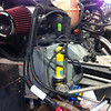 Fujita Cold Air Intake and stock sports suspension. Bilstein shocks & Eibach springs. Both of which are being replaced.