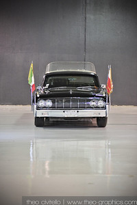 1964 Lincoln Papal Limousine of the John O'Quinn Collection in Houston, Texas