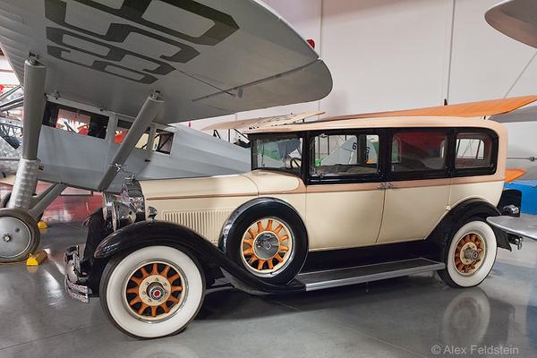 Packard<br /> Yanks Air Museum - Chino