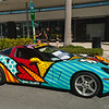 Corvette<br /> Hand painted by Romero Britto