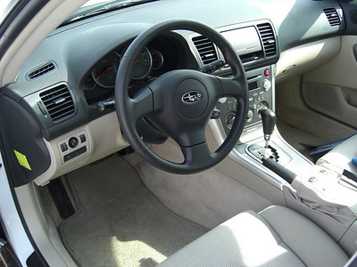Subaru Outback - our new car, march 7, 2008 CIMG1777s