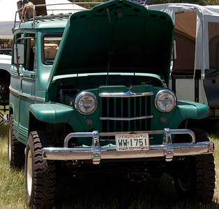 Classic overland vehicle.