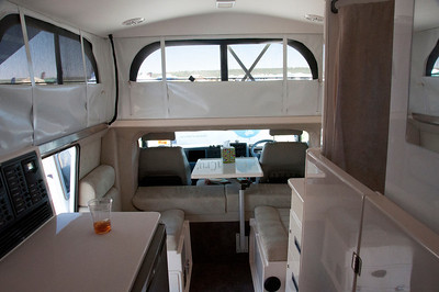 Looking toward the front of the Earth Cruiser.