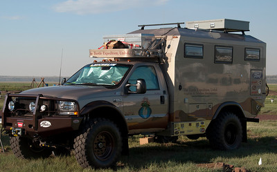 The latest Turtle Expedition vehicle. They're heading out to the Silk Road soon.
