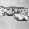 """The PMY-2 in front of the PMY-1 at the 1962 Cumberland Sports Car Races. <br /> <br /> Photo from <br />  <a href=""""http://www.nationalroadrally.com/photo/showphoto.php?photo=224&size=big&sort=1&cat=546"""">http://www.nationalroadrally.com/photo/showphoto.php?photo=224&size=big&sort=1&cat=546</a>"""