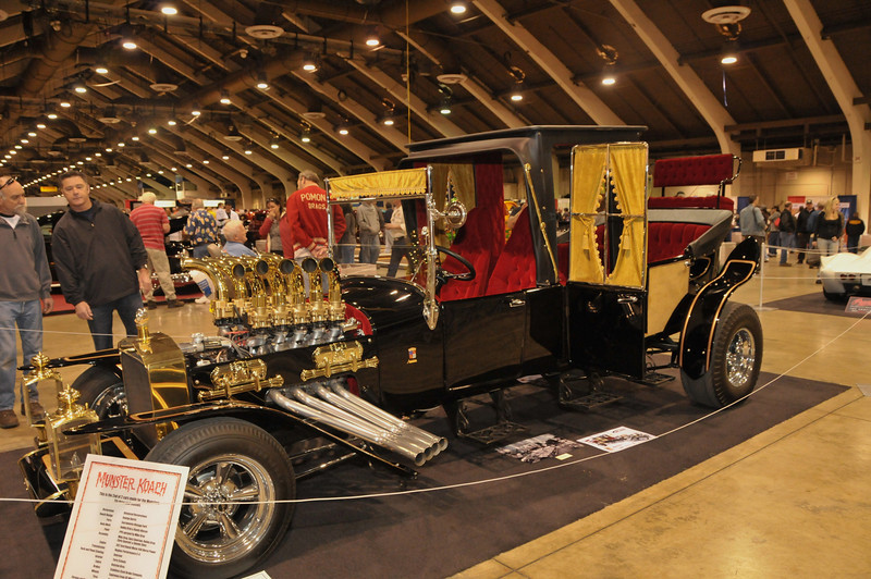 Munster car built by George Barris