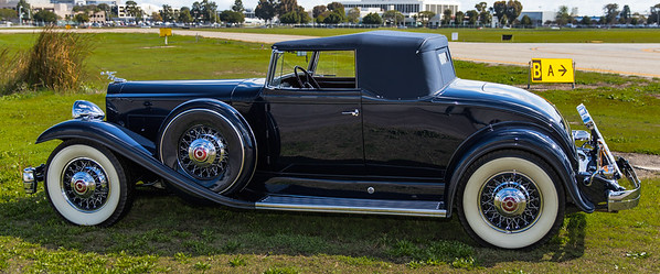 1932 Packard 905 Twin Six coupe Roadster.