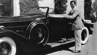 1932 Packard with Clark Gable
