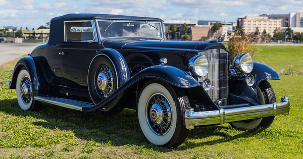 The Ultimate Packard 905 Twin Six Coupe Roadster