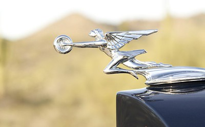 "1932 Packard ""Goddess of Speed"" radiator ornament / mascot"