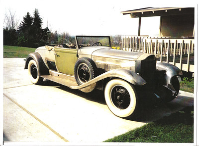 1932 Packard 905 Twin Six Coupe Roadster