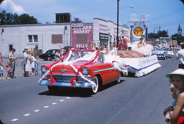 Paducah Centennial Week July 28-August 4 1956