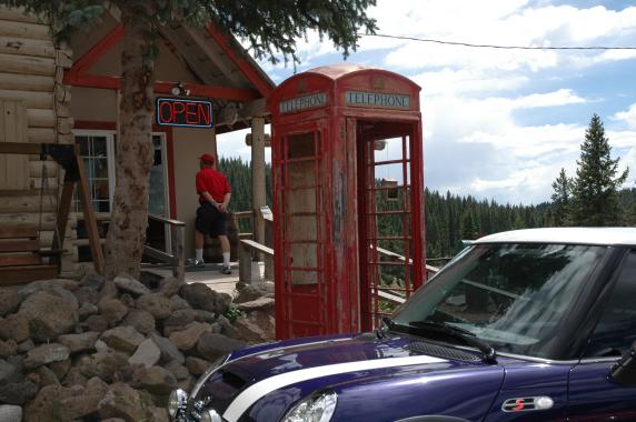 A little bit of Great Britian in Colorado.