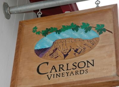 The Carlson Vineyards are located along a fun, twisty highway heading south of Palisade.