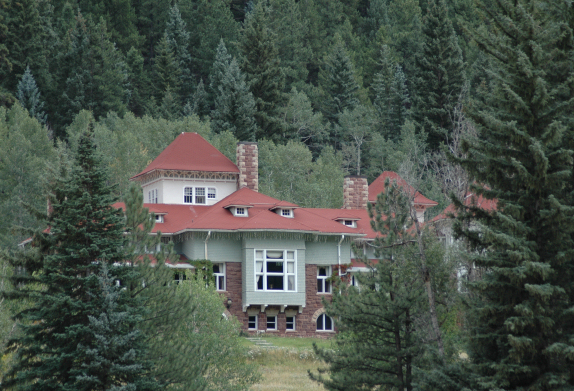 The Redstone Inn (Castle), between McClure Pass and Carbondale.