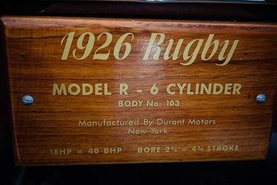 1926 Durant Rugby Model R - Palmer Motorama - Vintage Cars, Rare Cars, Sports Cars and Luxury Cars. Palmer Coolum Resort, Sunshine Coast, Qld, AUS; Saturday 14 June 2014. Photos by Des Thureson - http://disci.smugmug.com.