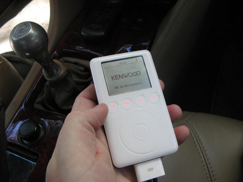 Kenwood iPod interface