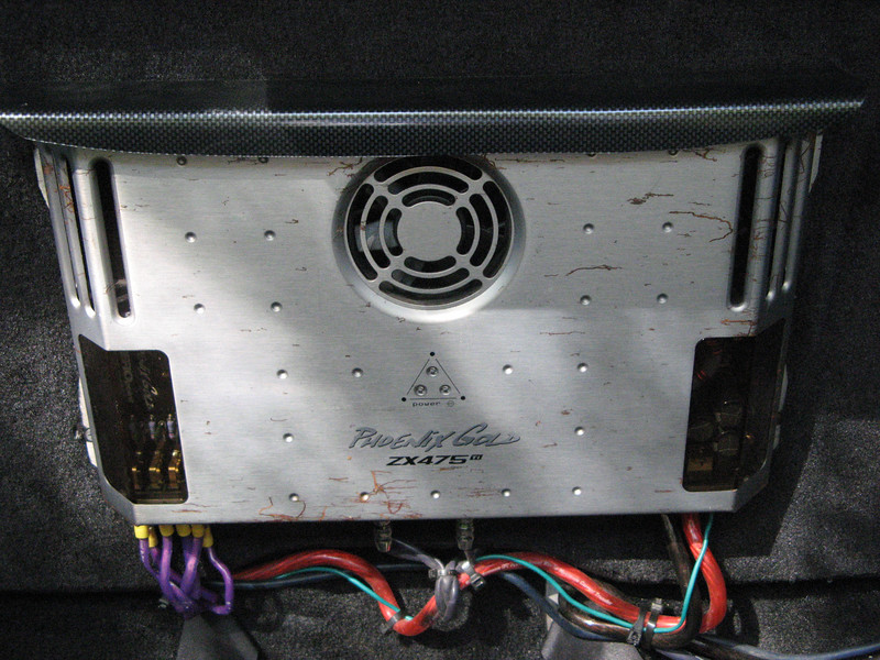 Phoenix Gold ZX475ti amp