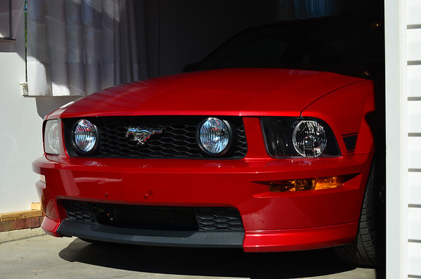 Mustang GT CS factory front end