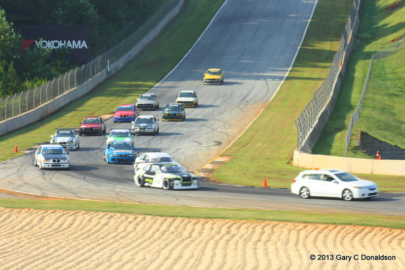 BMW CCA Club Racing, Road Atlanta, Turn 10a, Sunday, 8 September 2013