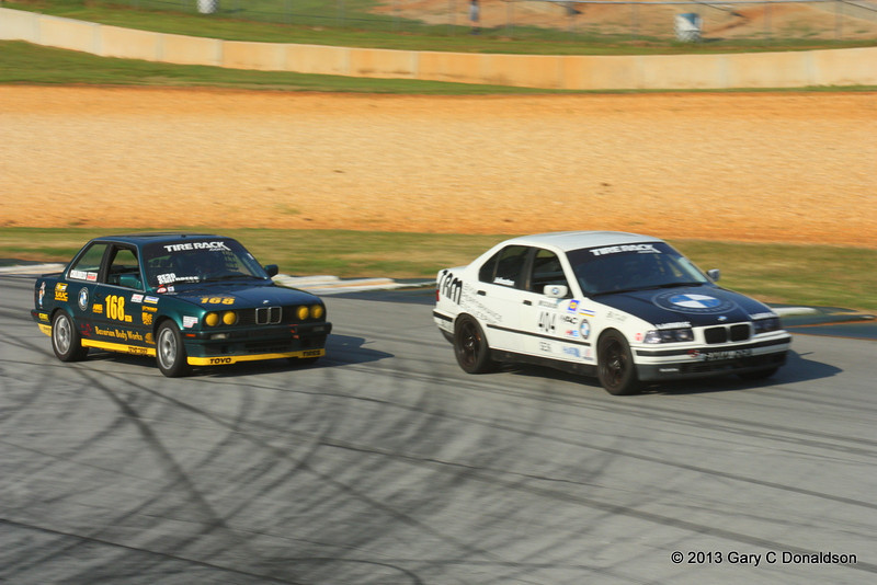 BMW CCA Club Racing, Road Atlanta, Turn 11, Sunday, 8 September 2013