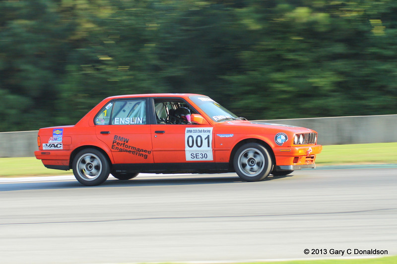 BMW CCA Club Racing, Road Atlanta, Turn 7,  7 September 2013