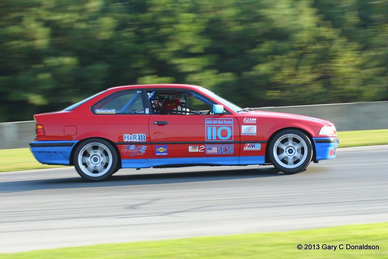 BMW CCA Club Racing, Road Atlanta, Turn 7, 7 September 2013