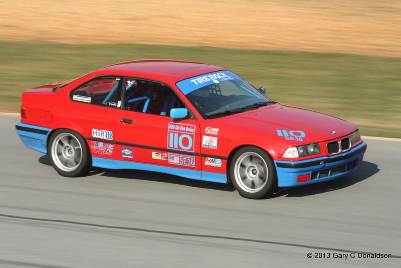 BMW CCA Club Racing, Road Atlanta, Turn 11, Sunday, 8 September 2013