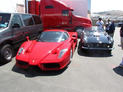 Ferrari Enzo, 250GT California Spyder. Or $8 million dollars in metal...