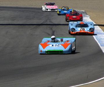 Porsche 908/3, 917, 906