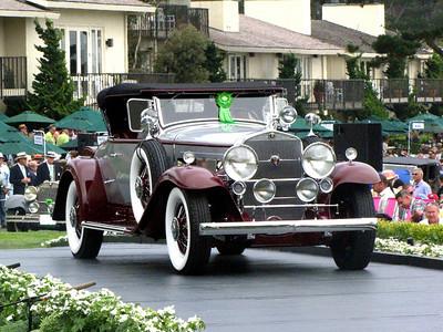 Class C-1: American Classic Open 1930 - 1932 2nd - 1930 Cadillac 452 V-16 Fleetwood Roadster