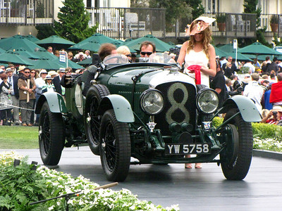Class F-3: Bentley Team & Race Cars 2nd - 1928 Bentley 4 1/2 Litre Vanden Plas LeMans Sports