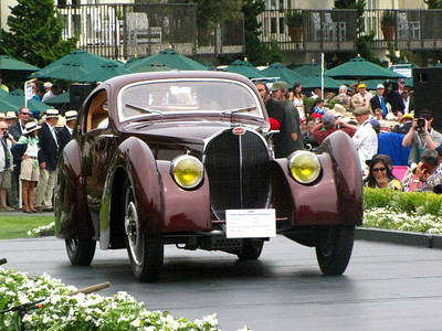 Class E-1: Bugatti - 100 Years of Style and Speed 1st - 1931 Bugatti Type 51 Dubos Coupé