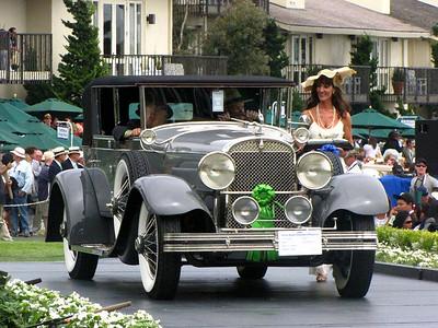 Class C-1: American Classic Open 1930 - 1932 1st - 1928 Hudson Super 6 Murphy Convertible Sedan