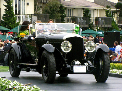 Class F-1: Vintage Bentley - 6 1/2 Litre Cars 2nd - 1930 Bentley Speed Six H.J. Mulliner Drophead Coupé