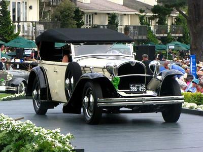 Class C-1: American Classic Open 1930 - 1932 3rd - 1930 Ruxton Model C Rauch & Lang Phaeton