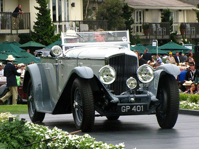 Class F-2: Vintage Bentley - 8 Litre Cars 1st - 1931 Bentley 8 Litre Vanden Plas Tourer
