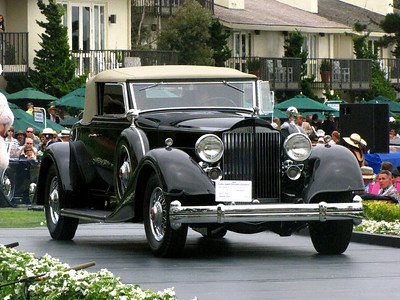 Class C-3: American Classic Open Packard 2nd - 1934 Packard V-12 1107 Coupe Roadster