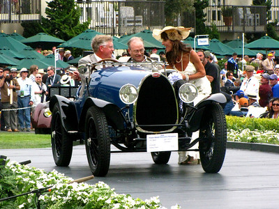 Class E-1: Bugatti - 100 Years of Style and Speed 3rd - 1925 Bugatti Type 13 Brescia 2 Seat Sports