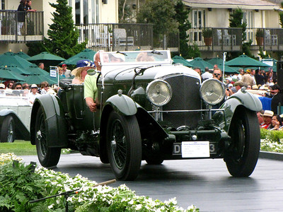 Class F-2: Vintage Bentley - 8 Litre Cars 2nd - 1931 Bentley 8 Litre Vanden Plas Tourer